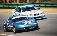 The Old #90 Spec Miata vs. BMW at VIR