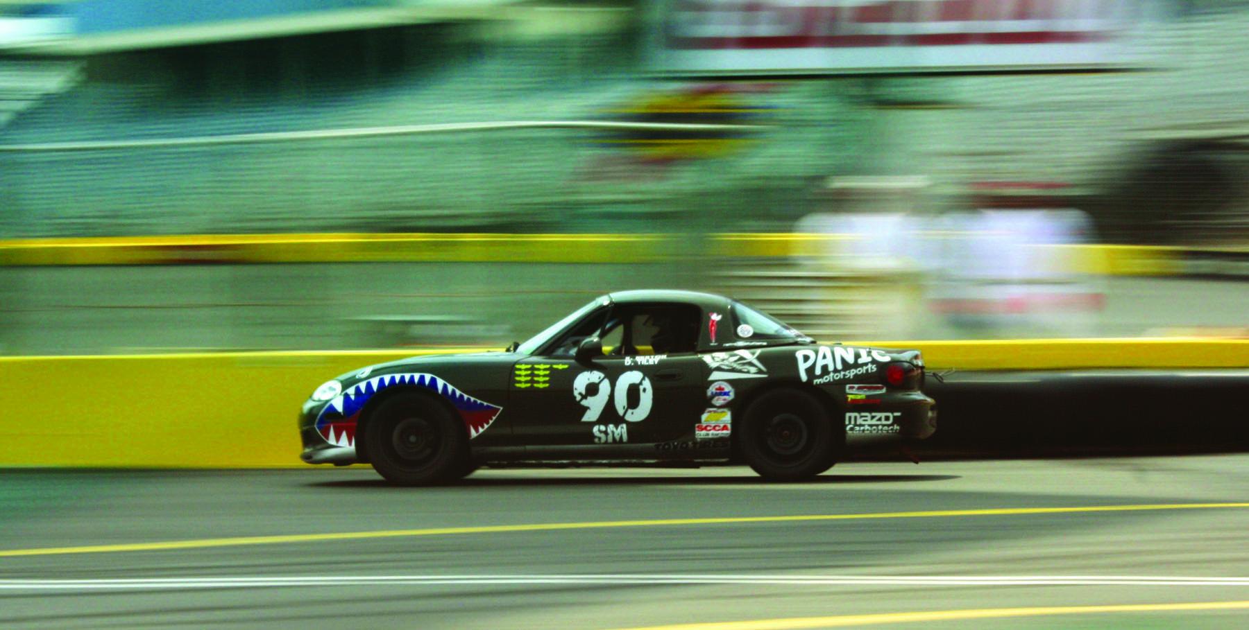 Panic Motorsports' original P40 Spec Miata