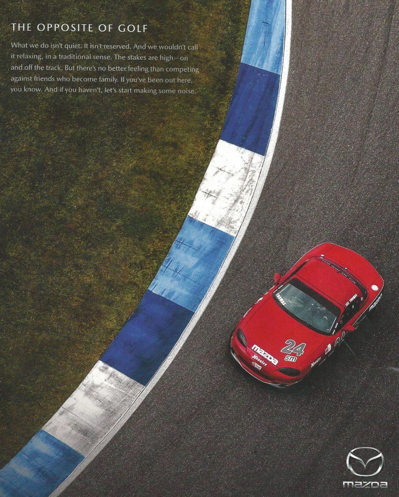 Why we race... Mazda Motorsports